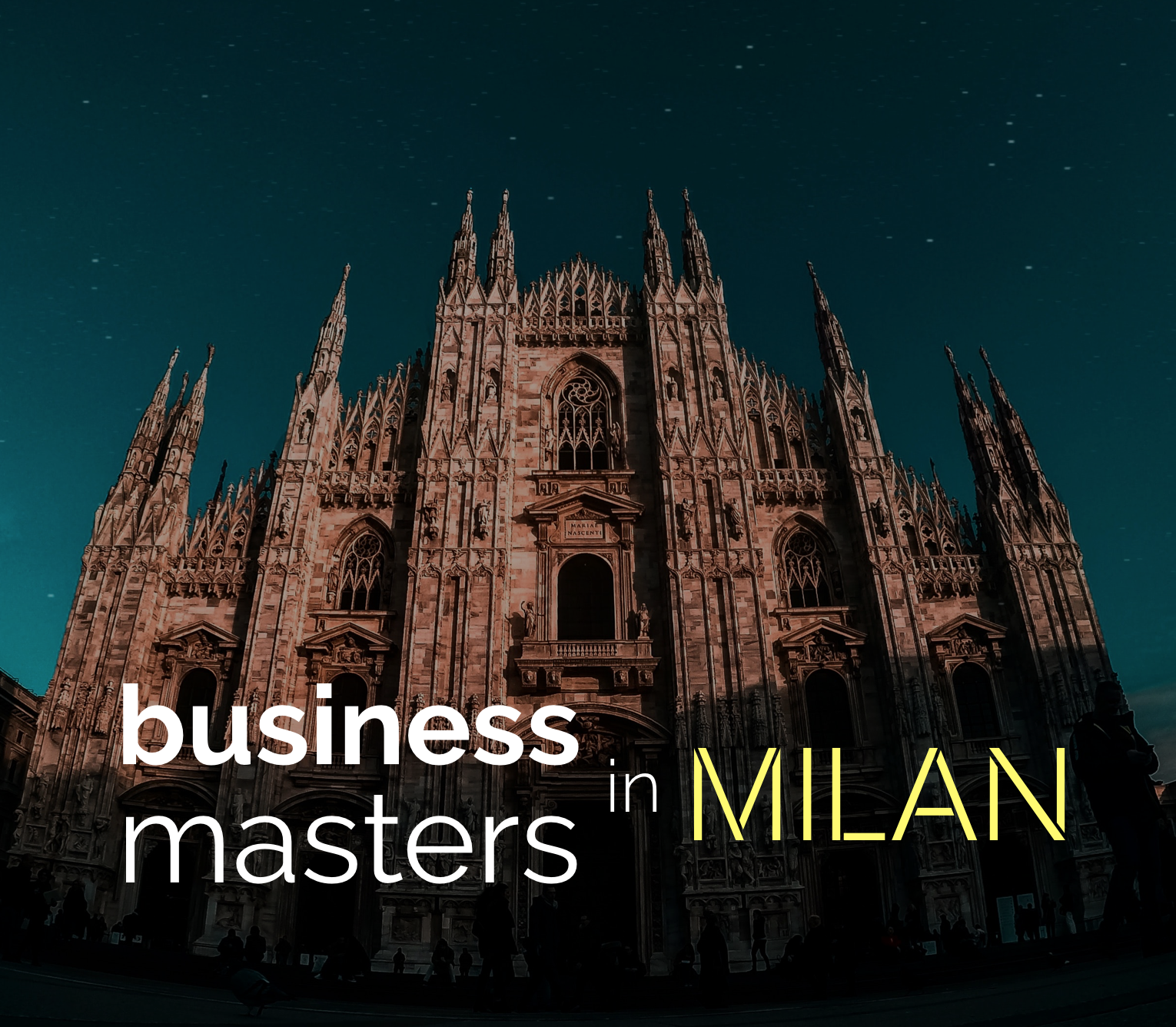 Study Business Masters in Milan