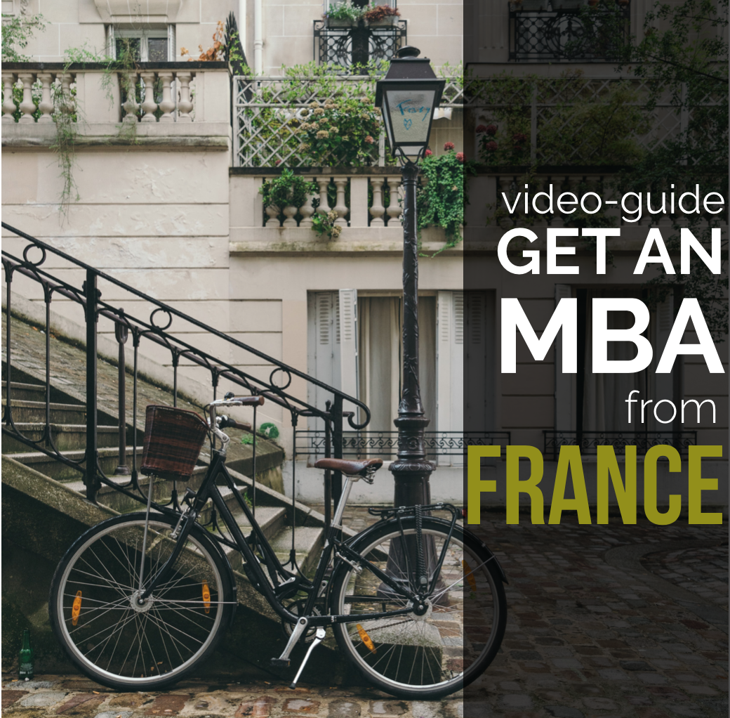 Study MBA in France