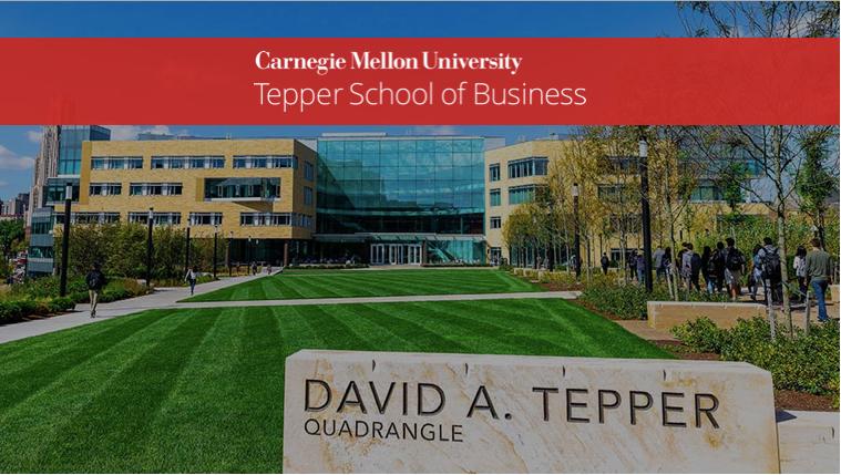 CMU Tepper School of Business, Pennsylvania   Full-Time MBA